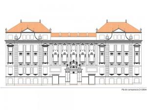 Façana del CEIP Milà i Fontanals